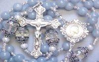 Gemstone rosary bracelet
