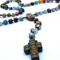 clay-rosary-stain-glass-cross