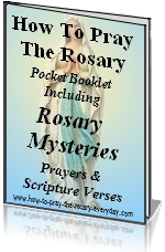 FREE pocket rosary booklets