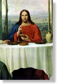 Holy Eucharist Instituted by Jesus