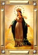 2011-2012 Marypages.com Award