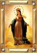2011-2012 Marypages.com Award