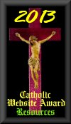 2013 Catholic Website Award for Resources