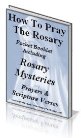 photo regarding How to Pray the Rosary for Kids Printable named No cost Rosary Booklets in the direction of down load