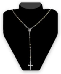 Rosary Cross Necklace