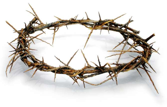 Crown of Thorns - Scriptural Sorrowful Rosary Mysteries