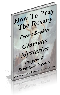 FREE Glorious Mysteries Booklet
