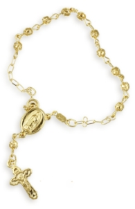 Especially The 14k Bracelet Gold Rosary Jewelry