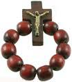 Wood Rosary Ring