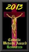 St. Charles Borromeo Website Award 2013