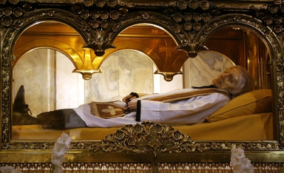 Incorrupt body of St. John Vianney